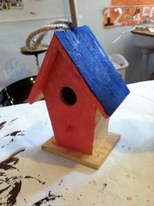 Zoey's birdhouse